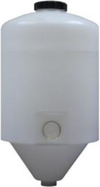 Conical Food Grade LDPE - Polyethylene Tank, 60 Litre