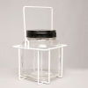 3.5 Litre Clear Glass Jar with Wire Cage for Aviation Fuel Sampling