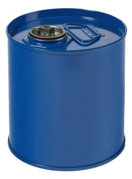 Air-Sea Containers, Code 112, UN Approved, Steel Drum, Lacquer Lined, 5L