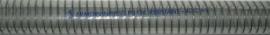 Merlett Armorvin Press PU - Polyurethane Lined Clear PVC Hose, with Steel Spiral