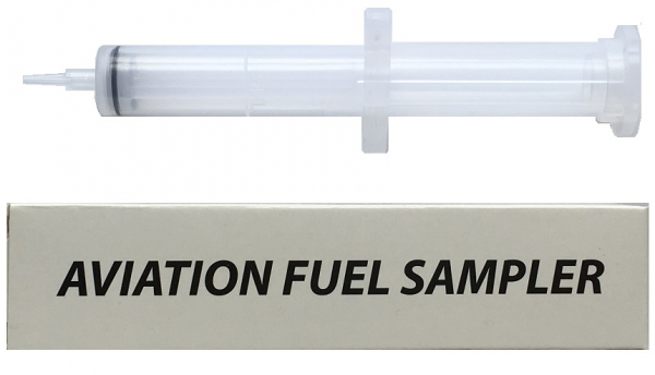 ASC Reverse Action Syringe for Aviation Fuel, 5ml
