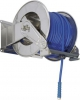 Ramex, 304 Stainless, and Painted Steel, Spring Rewind Hose Reels