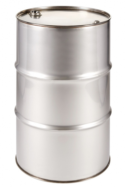 Air-Sea Containers, Code 563, UN Approved, Stainless Steel Drum, 210L