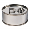 Air-Sea Containers, Code 600, UN Approved, Stainless Steel Drum, 6L