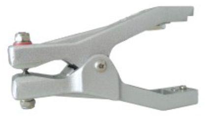 Alptec, Cast Aluminium Earthing Clip, 28mm Jaws, ATEX Approved.