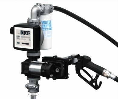 Piusi EX50, Vane Pump & Meter Drum Kit for Petrol, ATEX Approved