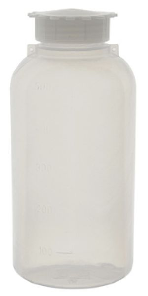Sample Bottle, LDPE, Cylindrical, Wide Mouth, 50ml to 2000ml, with eyelet for Security Seal