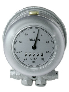 Braun HZ3 Low Flow Heating Oil Meter, 0.18 - 12.0 LPH