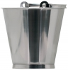 Bucket, Stainless Steel, With Bottom Band, 10L, 12L and 15L