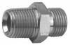 Cone Seat Nipple, Zinc Plated Steel, BSP