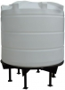 Conical / Cone Bottom, Food Grade LDPE Tank, 4200 Litre With Stand