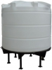 Conical / Cone Bottom, Food Grade LDPE Tank, 5200 Litre With Stand
