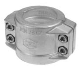 Dixon Bolt-on Safety / Hose Clamps, Aluminium