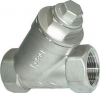 Y-Strainer, 316 Stainless Steel, FF, 800LB BSP