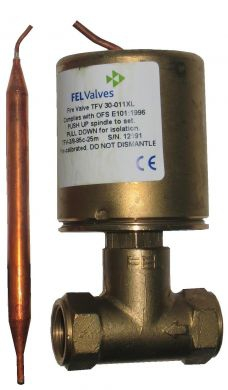 Fuelstop (FEL) Thermostatic Capillary Fire Valves