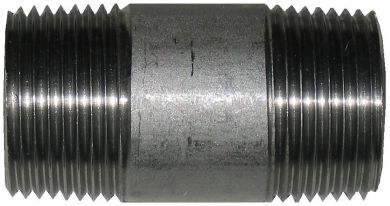 316 Stainless Steel Barrel Nipple, 150LB NPT