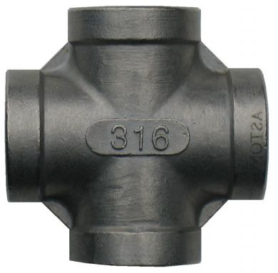 316 Stainless Steel Cross, 150LB BSP