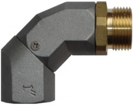 Piusi Swivel Elbow / Elbow Rotating Connector, BSP