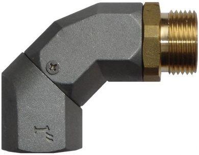 Piusi Swivel Elbow / Elbow Rotating Connector, BSP