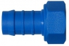 Hose Tail, Female Swivel, Nylon 6-6 (Tefen), BSP