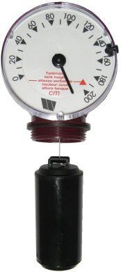 Watts M200-MECA Float Gauge, 0-2m Adjustable