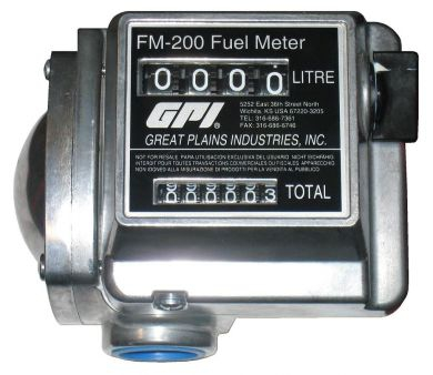 Great Plains Industries / GPI FM-200 Flow Meter