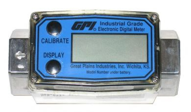 Great Plains Industries / GPI G2 Industrial Grade, Flow Meters, Threaded, Aluminium, ATEX Approved