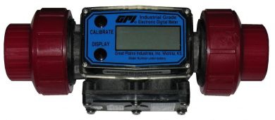 Great Plains Industries / GPI G2 Industrial Grade, Flow Meters, Threaded, PVDF, ATEX Approved