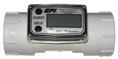 Great Plains Industries / GPI TM Series PVC Flow Meter, Threaded, 150 ANSI Flanged, or Pipe Spigot