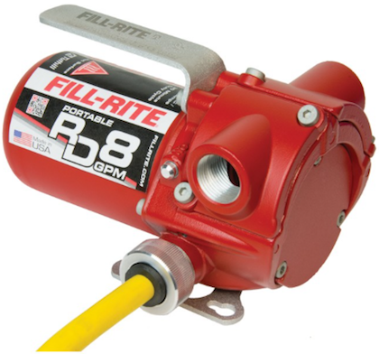 Fill-Rite RD8 ATEX Certified Battery Transfer Pump