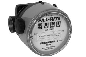 Fill Rite TN Series Nutating Disc Mechanical Flow Meters