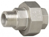 316 Stainless Steel, Cone Seat Union, MF, 150LB BSP