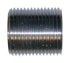 316 Stainless Steel, Parallel Nipple, 150LB BSP