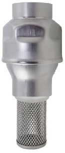 Foot Valve, 304 Stainless Steel, FF