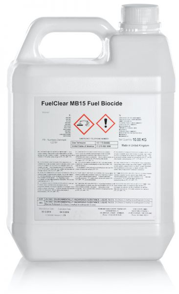 Fuelcare, FuelClear MB15 Fuel Biocide