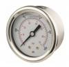 Pressure Gauge, Glycerine Filled, Rear Connection, 63mm Dia. 15 to 10,000 PSI