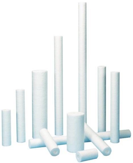 GE Osmonics Purtrex Polypropylene, Polyspun Filter Elements