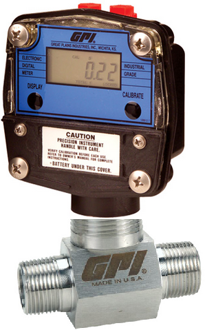 Great Plains Industries / GPI G-Series Precision ATEX Approved Flow Meters 316 Stainless