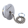 """Gammon GTP-1768, Dust Plug, Aluminum, With Chain, for 1.5"""" Dry Break Coupler"""