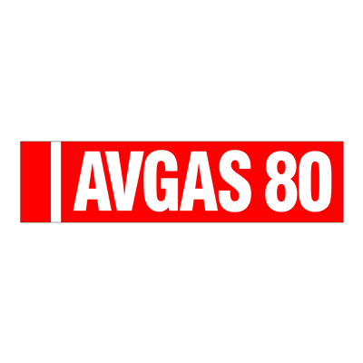 Gammon GTP-2135-2, AVGAS 80 Identification Decal, 3M