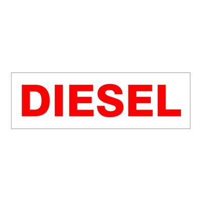 """Gammon GTP-2135-22, Diesel Decal, 3M, 5""""x16"""""""