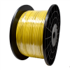 """Gammon GTP-2869, Galvanised Steel Grounding Cable, 5/32""""OD, Kink-Resistant Bright Yellow Hytrel"""
