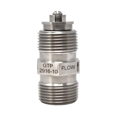 "Gammon GTP-2916-10, Air Eliminator Check Valve, Stainless, Viton Seal, 3/4"" NPT"