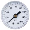 "Gammon GTP-2954C, 2"" Center Back Mount Pressure Gauge 0-160 PSI"