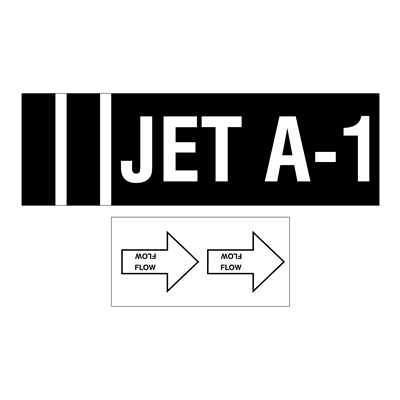 Gammon GTP-3255-A1, JET A-1 Decal Set, 3M
