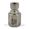 Gammon GTP-722, Actuator Nipple, Stainless Steel, NPT Female