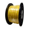 "Gammon GTP-8557-1, Galvanised Steel Grounding Cable, 5/32""OD, Yellow PVC"