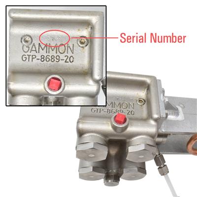 Gammon GTP-8757, Viper Additive Injection System, Pump Rebuild Kits