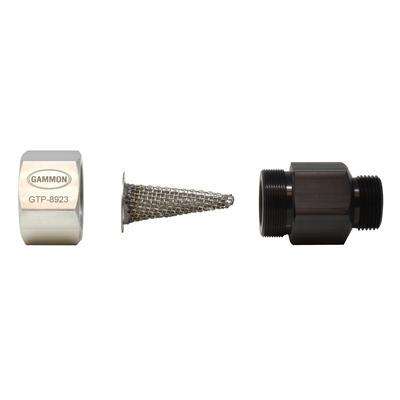 """Gammon GTP-8923, Nozzle Strainer Assembly, 1"""" Female Inlet, 1"""" Male Outlet"""