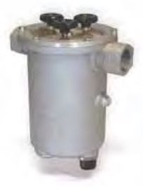 """Giuliani Anello 41000NL Self-Cleaning Fuel Filter, 1.5"""" x 1.5"""" BSP, with 230v 50-60Hz Heating Element 70c"""